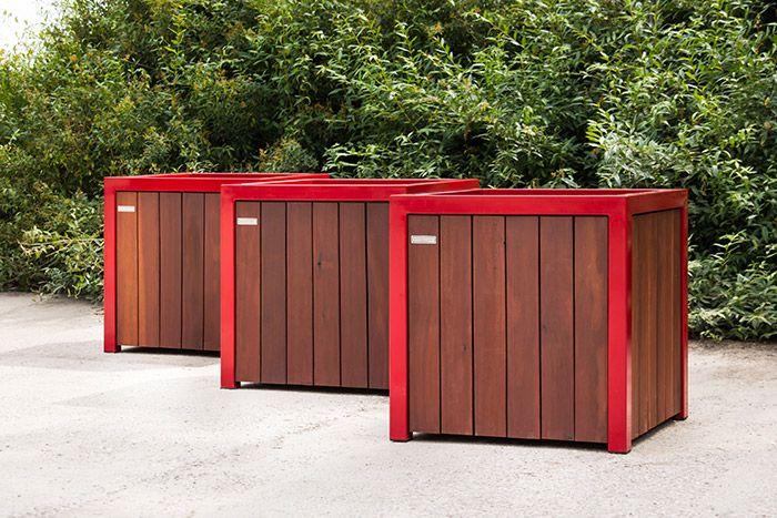 Woodcoats serie rood